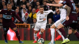 Eden Hazard keert terug met uitgelokte penalty en vinnige acties, maar Real Madrid geraakt toch niet voorbij laagvlieger
