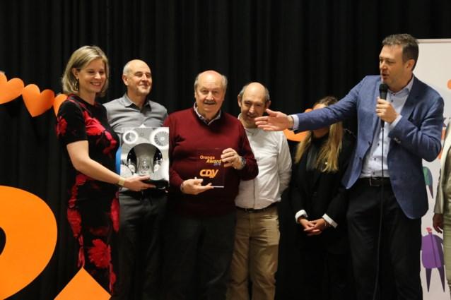 Manu Debruyne valt opnieuw in de prijzen met CD&V Award