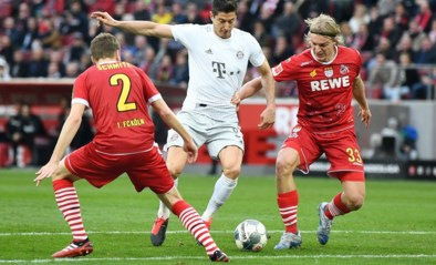 Bornauw en Keulen gaan kansloos onderuit tegen leider Bayern München
