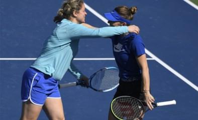 """Haar collega-tennissters zijn blij met de terugkeer van Kim Clijsters, Simona Halep is onder de indruk: """"Haar niveau was echt goed"""""""