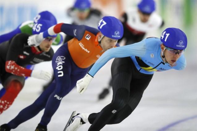 """Bart Swings kan Europese triomf niet herhalen en valt naast podium op WK schaatsen: """"Ik zat eigenlijk nooit echt goed in de wedstrijd"""""""