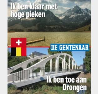 Genoeg van Drongen, Zwitsers? Wij ook van jullie bergtoppen!