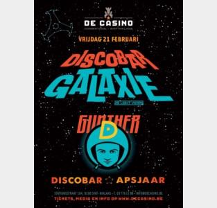 WIN 3 ticets voor Discobar Galaxie