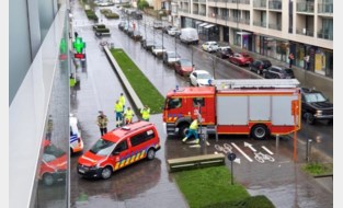 Gaslek nabij station van Oostende: buurt tijdlang afgezet
