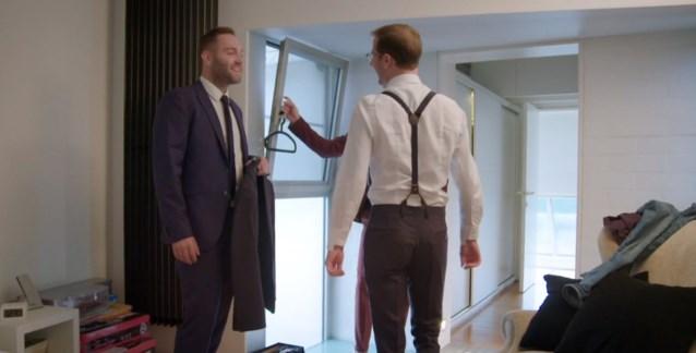 En dan duikt Victor plots op in de volgende aflevering van 'Blind getrouwd'