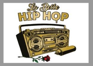 Volledig vrouwelijke breakdance en hiphop-danswedstrijd tijdens La Belle Hip Hop