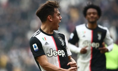 Juventus, zonder Ronaldo, geraakt met moeite voorbij tienkoppig Brescia