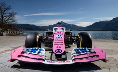 Opnieuw een 'roze' F1-bolide in de Formule 1