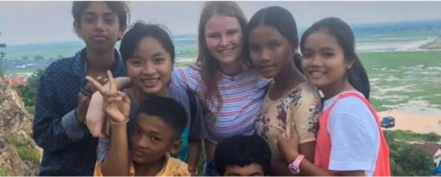 Lerares Engels stuurt schoolmateriaal naar Cambodja
