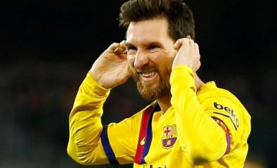 Lionel Messi komt voor het eerst in zes jaar niet tot scoren in vier opeenvolgende wedstrijden in La Liga