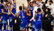 """Team LeBron wint spannende All-Star Game die in het teken stond van Kobe Bryant: """"Je kon zijn aanwezigheid voelen"""""""
