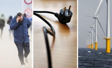 Stormen leggen molenparken geen windeieren: liefst 30% van stroomverbruik komt van windmolens