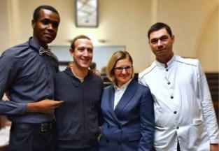 Mark Zuckerberg in Brussel voor zitting bij Europese Commissie, maar niet zonder garnaalkroketten en steak tartare