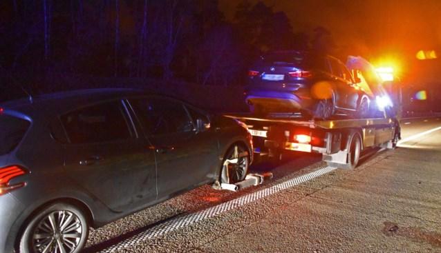 """Overstekend everzwijn beschadigt tien wagens: """"Veel geluk gehad"""""""
