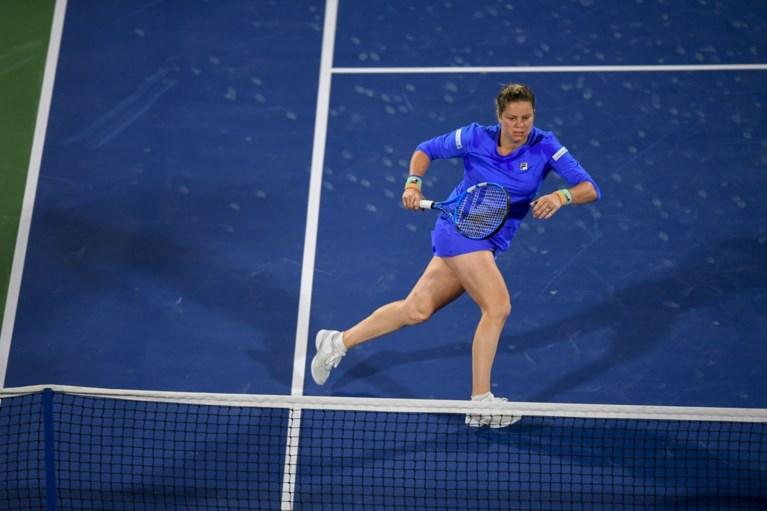 Alsof ze nooit is weggeweest: Kim Clijsters dwingt Muguruza tot het uiterste, maar sneuvelt toch bij comeback