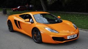 Staat verdient 274.000 euro aan autoverkoop, waarvan 87.000 van McLaren
