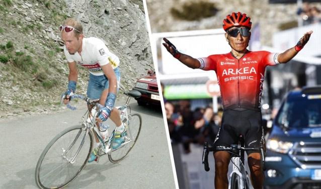 Nairo Quintana klopt zelfs Marco Pantani en is nu recordhouder op de Mont Ventoux (tot aan Chalet Reynard)