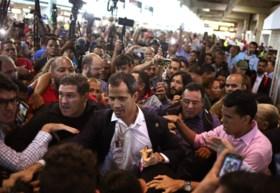 """Venezuela schort vluchten TAP Air Portugal op nadat oom van Guaidó """"explosieven meenam op vliegtuig"""""""