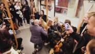 Dit aanzoek in de Brusselse metro is misschien wel het origineelste ooit
