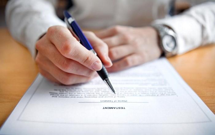 Wanneer laat je het best je testament aanpassen en waarop moet je zeker letten?