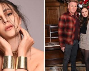 """Dochter van beroemde tv-kok Gordon Ramsay lanceert modellencarrière: """"Ik wil anderen inspireren"""""""