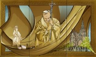 Nog 7.000 euro nodig om haartjes paus Johannes Paulus II plaats te geven in basiliek