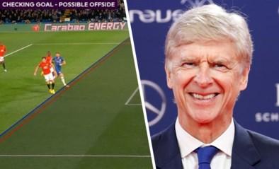 Niet langer een teen buitenspel? Arsène Wenger pleit voor nieuwe en veel simpelere regel