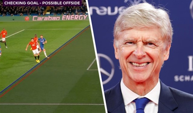 """Niet langer een teen buitenspel? Arsène Wenger pleit voor simpelere regel """"om verhitte discussies te vermijden"""""""