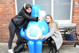 Warme William bezoekt Leiepoort campus Sint-Vincentius