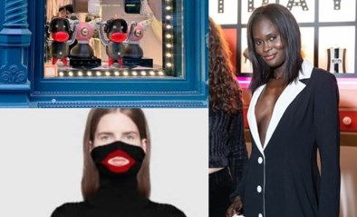 Model weigert accessoires te dragen met racistische achtergrond
