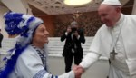 Ben Bundervoet stunt opnieuw: op audiëntie bij paus Franciscus