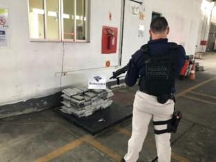 Brazilië onderschept 114 kg coke op weg naar Antwerpen
