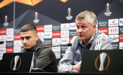"""Ole Gunnar Solskjaer gaat roteren tegen Club Brugge: """"Zeven matchen op 21 dagen, ik ga mijn ganse ploeg nodig hebben"""""""