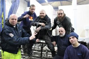 Niet veel te zien op de wagen van Droeve Apostelen: mysterie troef