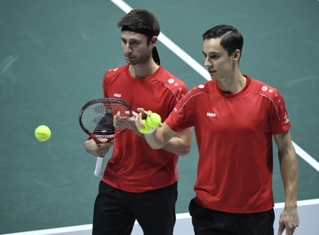 Vliegen en Gillé gaan er meteen uit in dubbelspel in ATP Rio de Janeiro