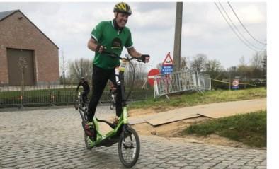 """'Vlaanderens Mooiste' heeft hij al getemd met zijn loopfiets, nu gaat Geert nog straffere uitdagingen aan: """"Meer dan 500 kilometer in 24 uur moet te doen zijn"""""""