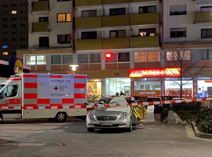 Gewapende man schiet op shishabar in Duitsland: 11 doden, onder wie de dader