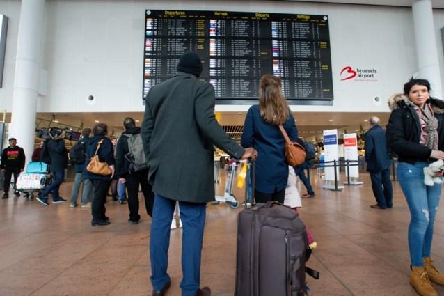 Brussels Airport verwacht 650.000 passagiers tijdens krokusvakantie
