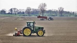 Boeren voeren donderdagmiddag actie in Europese wijk