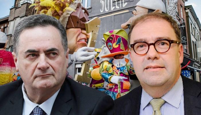 """Burgemeester D'Haese reageert op commotie rond carnaval: """"Niet aan buitenlandse minister om te bepalen wat Aalst mag"""""""