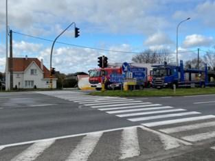Man overleden bij ongeval in Moerkerke