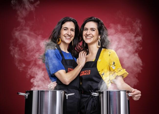 """Tweeling Jasmina en Deborah (30) waagt kans op VTM: """"Als kind wilden we al samen een restaurant openen"""""""