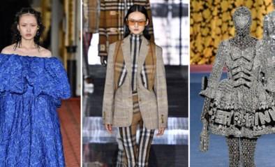 De hoogtepunten van de modeweek in Londen