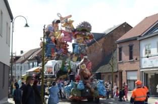 Carnavalsstoet zal op Pasen uitrijden