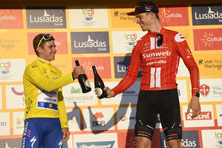 Cees Bol snelste in Ronde van de Algarve, Theuns en Stuyven met de schrik vrij na val