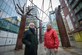 """Kunstwerk op Kievitplein raakt niet af zoals gepland: """"En het is al een betonvlakte"""""""