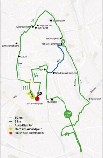 Stadsloop De Gentenaar pakt uit met spectaculaire vernieuwing: lopen op B401