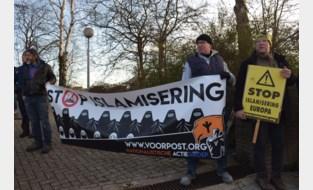 Voorpost protesteert in Landen tegen schooluitstap naar moskee in Heusden-Zolder