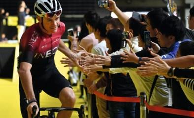 """Herstelde Chris Froome popelt om plek in peloton weer op te nemen tijdens UAE Tour: """"Immense opluchting"""""""