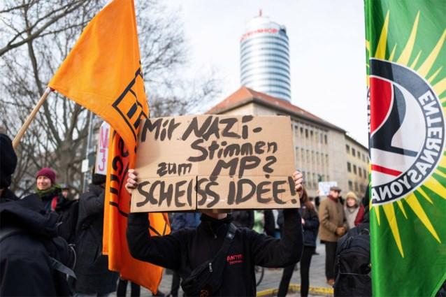 Politieke partijen in Duitse Thüringen sluiten pact tegen extreemrechts